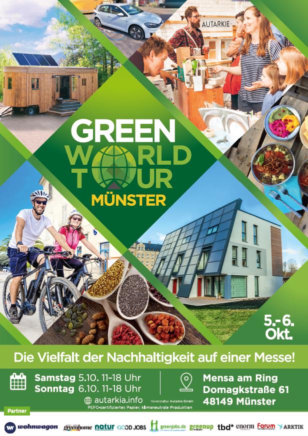 Green World Tour Münster wieder sehr gut besucht!